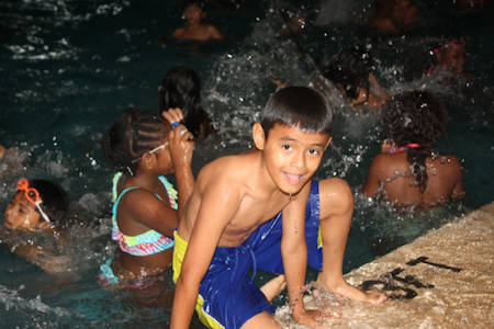 Boys and girls beat the heat with grant from The Will County Community Foundation