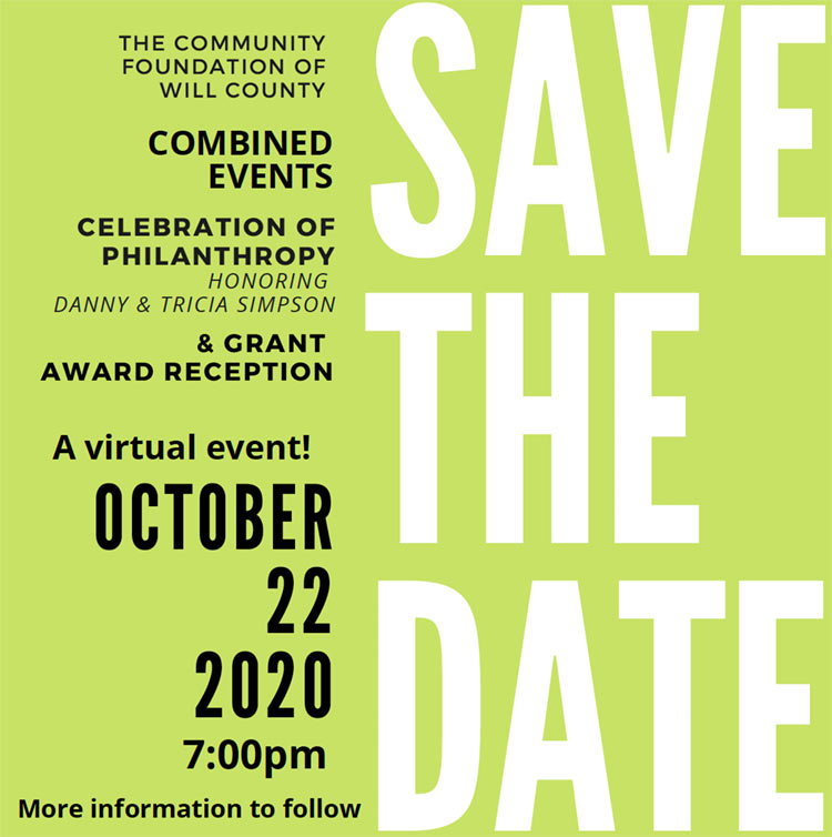 Save the Date Virtual event